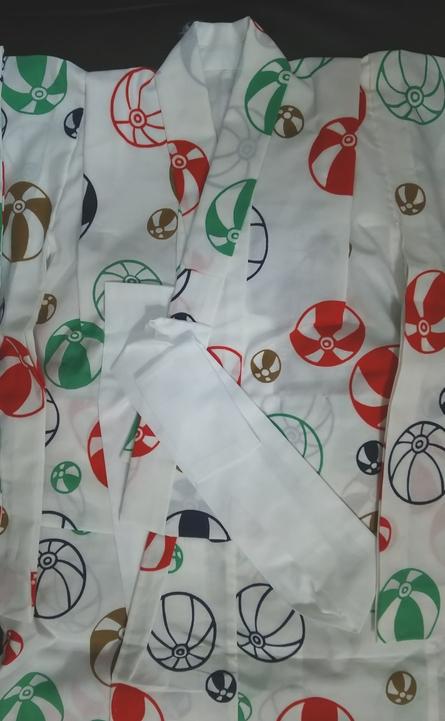 子供の浴衣、手作りしました!型紙とおすすめ生地